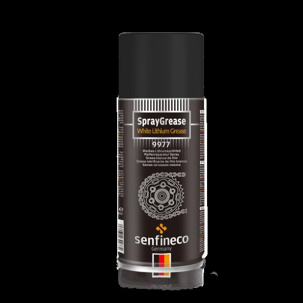 9977 SprayGrease White lithium grease 12x450ml
